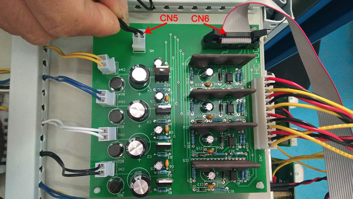 Frequency converter driver board