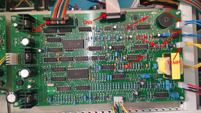 Frequency converter mainboard