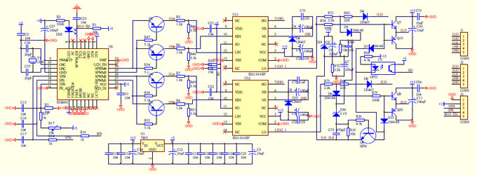 Homemade 2000w Power Inverter With Circuit Diagrams on car ac schematic diagram