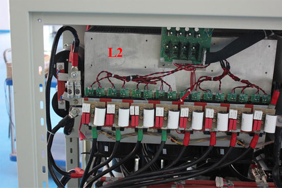 GoHz frequency converter second phase IGBT modules