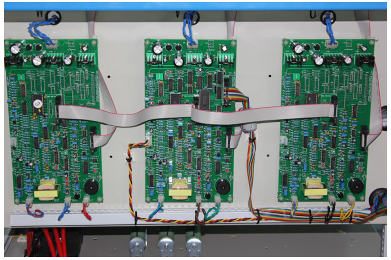 Three phase frequency converter main board