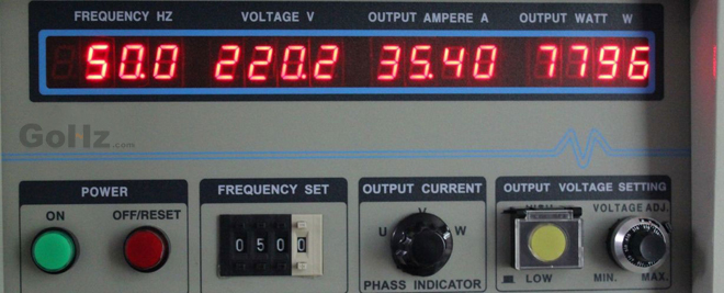 50Hz Frequency Converter