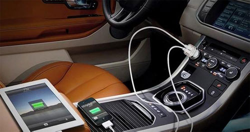 Car inverter for mobile phone