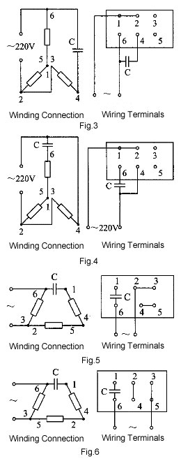 V single phase wiring diagram