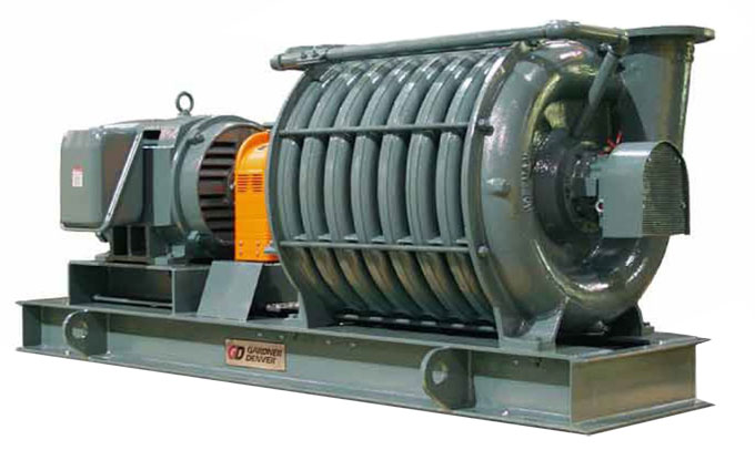 Induction motor for centrifugal fan