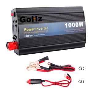 Power inverter for car batteries