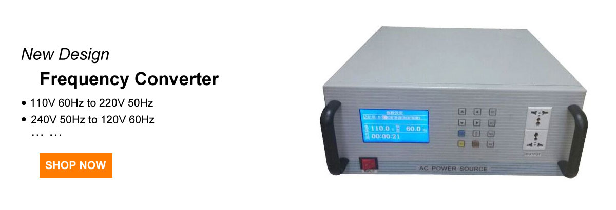 1 kVA frequency converter 60Hz to 50Hz